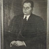 Vehmaan osuuskaupan johtaja Edvard Aaltonen 1948