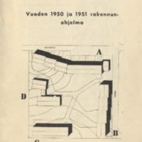 Vuoden 1950 ja 1951 rakennusohjelma