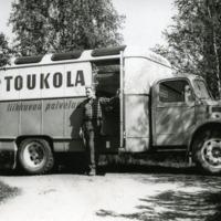 Osuuskauppa Toukola myymäläauto 30.5.1960