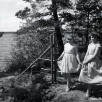 Terttu Marttinen ja Elsa Haanpää