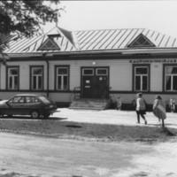 Ulkokuva Otavankadun vanhasta kirjastosta