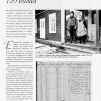 Kassakoneen kilinää 120 vuotta