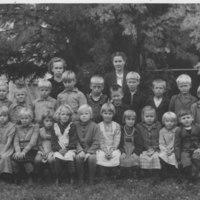 Koululaisia 1948