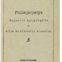 Poliisijärjestys Kajaanin kaupungille ja sille kuuluvalle alueelle.pdf