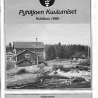 Pyhäjoen Kuulumiset : Huhtikuu 1989