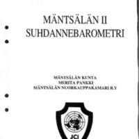 Mäntsälän II suhdannebarometri