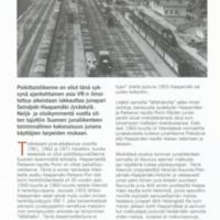 Junaliikenteemme kulta-ajat 1960-luvulla