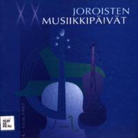 Joroisten musiikkipäivien käsiohjelma 1997