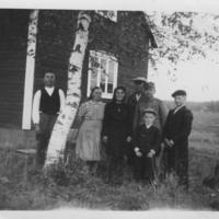 Ryhmäkuva Savijoella vuonna 1944