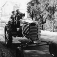 Viljo Seppälän ensimmäinen traktori