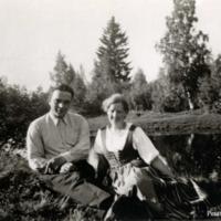 Pentti Haanpää ja Aili Karjalainen
