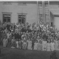 Keiteleen kirkonkylän kansakoulun äitienpäiväjuhla