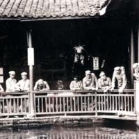 Kiinassa vanhalla kalalammella