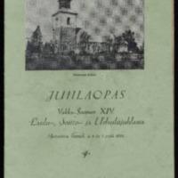Juhlaopas : Vakka-Suomen XIV laulu-, soitto- ja urheilujuhlassa Mietoisissa heinäk. 3, 4 ja 5 p:nä 1931