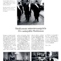 Satakunnan sotaveteraanipiirin 35-vuotisjuhla Huittisissa